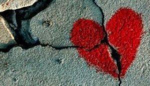 coeur brise amour perdu