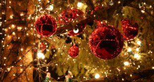 Sapin et décorations de Noël
