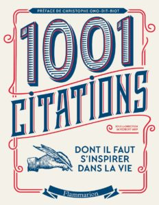 1001 citations de Robert Arp et Christophe Ono